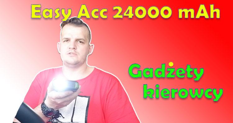 Easy Acc 24000 mAh gadzety kierowcy