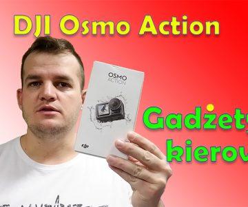 DJI Osmo action Kierowcy HGV