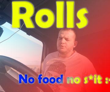 No Food No Shit hgv drivers